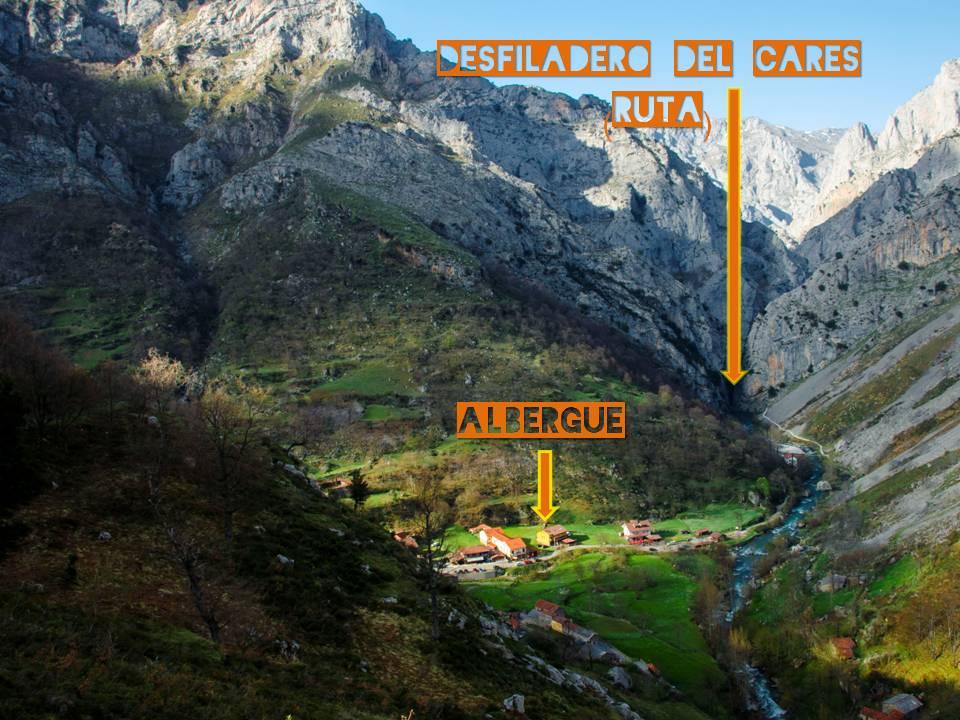 Enclave privilegiado si estás planeando hacer la ruta del Cares o cualquier otra ruta por los Picos