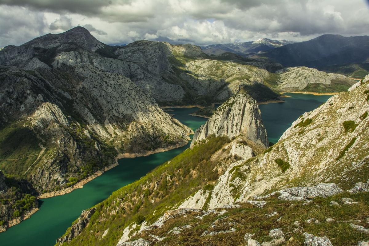 Bello y espectacular paisaje